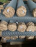 Сетка Рабица оцинкованная 60х60, Ø 2,5 мм, высота 1,20 м, рулон 10 м, фото 9