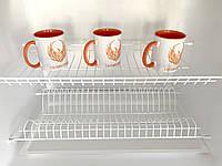 Сушка для посуду REIS 800мм біла, фото 1