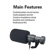 Спрямований мікрофон Mcoplus VM-P01 для телефону (смартфону), фото 3