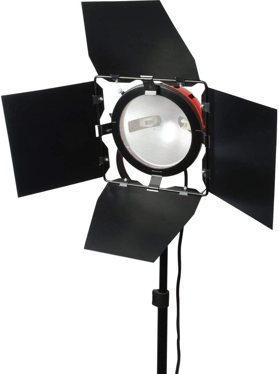 Галогенный осветитель - постоянный свет FST 800 (800 Вт) (RED HEAD) с димером и охлаждением (3200K)