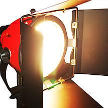 Галогенный осветитель - постоянный свет FST 800 (800 Вт) (RED HEAD) с димером и охлаждением (3200K), фото 2