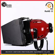 Галогенный осветитель - постоянный свет FST 800 (800 Вт) (RED HEAD) с димером и охлаждением (3200K), фото 3