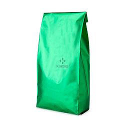 Пакет с центральным швом 90*320 ф (30+30) зелёный