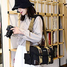 """Полотняна Сумка для фотоапаратів Canon (тип """"5014""""), фото 3"""