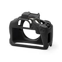 Защитный силиконовый чехол для фотоаппаратов Canon EOS 4000D - черный, фото 2