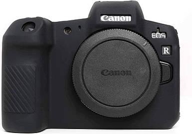 Защитный силиконовый чехол для фотоаппаратов Canon EOS R - черный