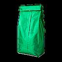 Пакет с центральным швом 90*320 ф (30+30) зелёный, фото 3