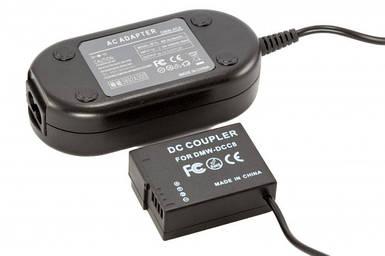 Сетевой адаптер DMW-AC8 + DMW-DCC12 (совместимость DMW-BLF19) для Panasonic DMC-GH3, GH4, GH5 питание от сети