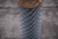 Сетка Рабица оцинкованная 60х60, Ø 3.0 мм, высота 1,50 м, рулон 10 м, фото 1