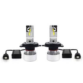 LED лампы в головной свет серии SX9 Цоколь H4, 35W, 3500 Люмен/Комплект