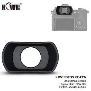 Наглазник KE-EC6 (аналог DMW-EC6) от JJC (KIWI) для камер Panasonic DC-S1H, DC-S1R, DC-S1