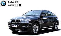 Машинка микро р/у 1:43 лиценз. BMW X6 (черный