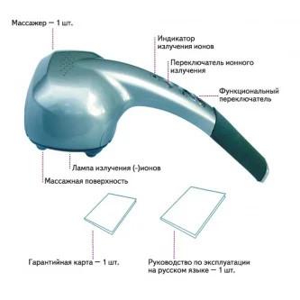 Конструкция массажера Nozomi MH-103
