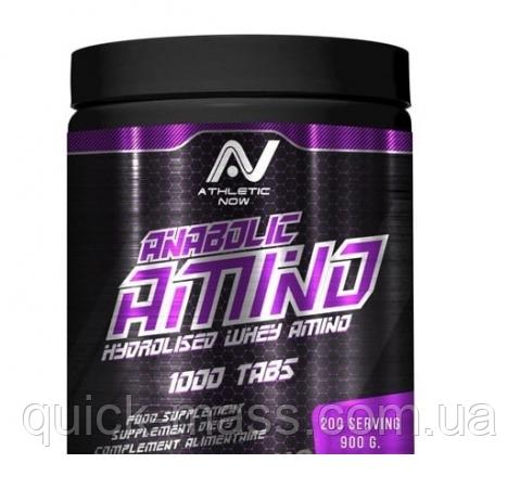 Аминокислоты Athletic Now Anabolic Amino Whey 1000 таб