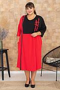 Платья; сарафаны больших размеров 50-74