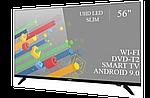 """Современный телевизор Ergo  56"""" Smart-TV//DVB-T2/USB адаптивный UHD,4K/Android 9.0, фото 3"""