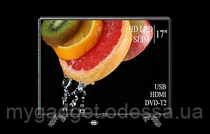 """Современный телевизор Hisense  17"""" HD-Ready/DVB-T2/USB (1366x768)"""