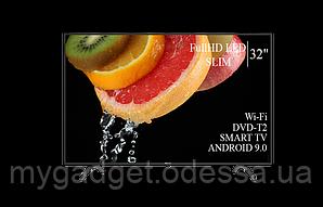 "Современный телевизор Hisense  32"" Smart-TV/FullHD/DVB-T2/USB (1920×1080) Android 9.0"