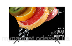"Современный телевизор Hisense  42"" Smart-TV/FullHD/DVB-T2/USB Android 9.0"