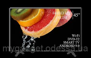 "Современный телевизор Hisense  45"" Smart-TV/FullHD/DVB-T2/USB Android 7.0"