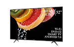"""Современный телевизор Hisense  52"""" Smart-TV/DVB-T2/USB Android 7.0 АДАПТИВНЫЙ 4К/UHD, фото 3"""