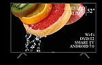 """Современный телевизор Hisense  52"""" Smart-TV/DVB-T2/USB Android 7.0 АДАПТИВНЫЙ 4К/UHD, фото 4"""