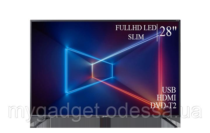 "Современный телевизор Sharp  28"" FullHD/DVB-T2/USB"