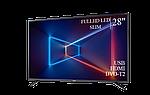 "Современный телевизор Sharp  28"" FullHD/DVB-T2/USB, фото 2"