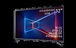 "Современный телевизор Sharp  32"" Smart-TV/Full HD/DVB-T2/USB  Android 9.0, фото 3"