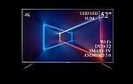 "Современный телевизор Sharp  52"" Smart-TV/DVB-T2/USB Android 7.0 АДАПТИВНЫЙ 4К/UHD, фото 4"