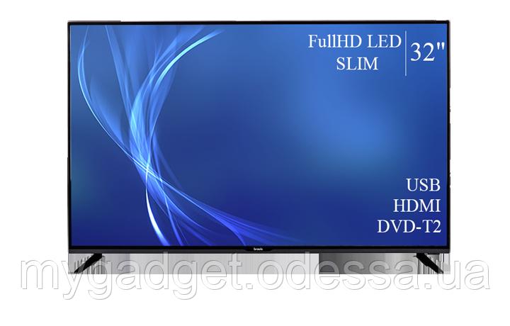 """Сучасний телевізор Bravis 32"""" FullHD/DVB-T2/USB"""