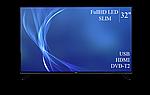 """Сучасний телевізор Bravis 32"""" FullHD/DVB-T2/USB, фото 4"""
