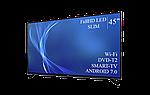 "Современный телевизор Bravis  45"" Smart-TV/Full HD/DVB-T2/USB Android 7.0, фото 2"