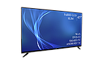 "Современный телевизор Bravis  45"" Smart-TV/Full HD/DVB-T2/USB Android 7.0, фото 3"