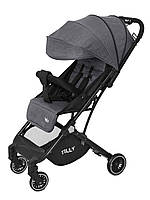 Детская прогулочная коляска TILLY Bella T-163 Серый (T-163 Anchor Grey)