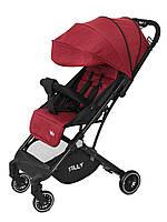 Детская прогулочная коляска TILLY Bella T-163 Красный (T-163 Brick Red)