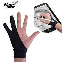 Перчатка для рисования NEO STAR для графического планшета размер L 16.5 см-18.5 см, фото 2