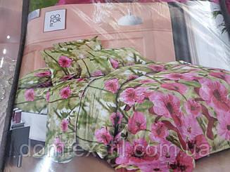 Постельное белье ТЕТ-А ТЕТ полисатин 90.евро размер