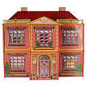 Будиночок для ляльок 6983 (6) 2 поверхи, 6 кімнат, 128 деталей, в коробці, фото 3