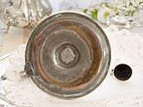 Посеребренный подсвечник с гасником, серебрение по меди, винтаж, Англия, фото 5