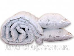 Одеяло теплое+2 подушки, искусственный лебяжий пух