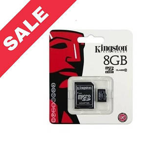 "Карта пам'яті ""Kingston"" Memory Card MicroSDHC (8 Gb) Class 10, фото 2"