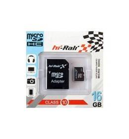 Карта памяти Micro SD 16Gb Hi-Rali Class 10 c ад. (UHS-1)