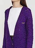 Женский кардиган Clockhouse фиолетовый L, фото 3
