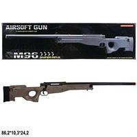 Снайперская винтовка AWP на пульках с поворотным затвором, Cyma M96T, реплика AWP, утяжеленная