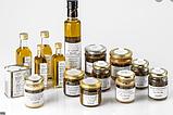 Олія оливкова першого віджиму з ломтиками сушеного білого трюфелю (0,5%) 250 мл скло, фото 2