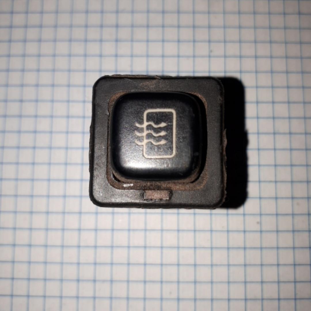 Кнопка включения обогрева заднего стекла Таврия Славута ЗАЗ 1102 1103 1105 ВАЗ 2108 2109 21099 2113 2115
