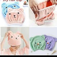 Шапочка для сушки волос. Полотенце для головы.  шапочка в душ. Тюрбан из микрофибры