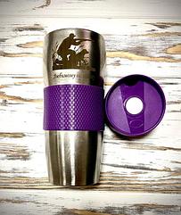 Термокружка металлическая с гравировкой на заказ Alaska 16