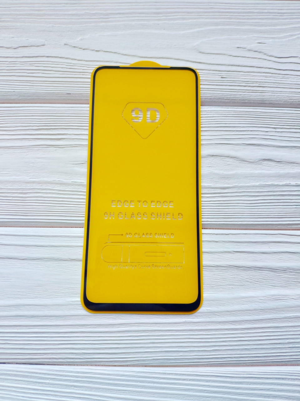 Захисне скло 9D для Samsung A11 2020 / A115F Full Glue Чорне